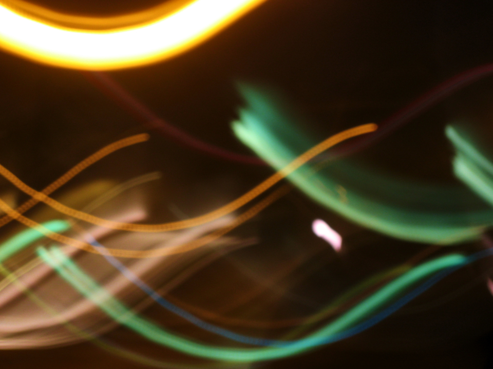 lights swirls abstract