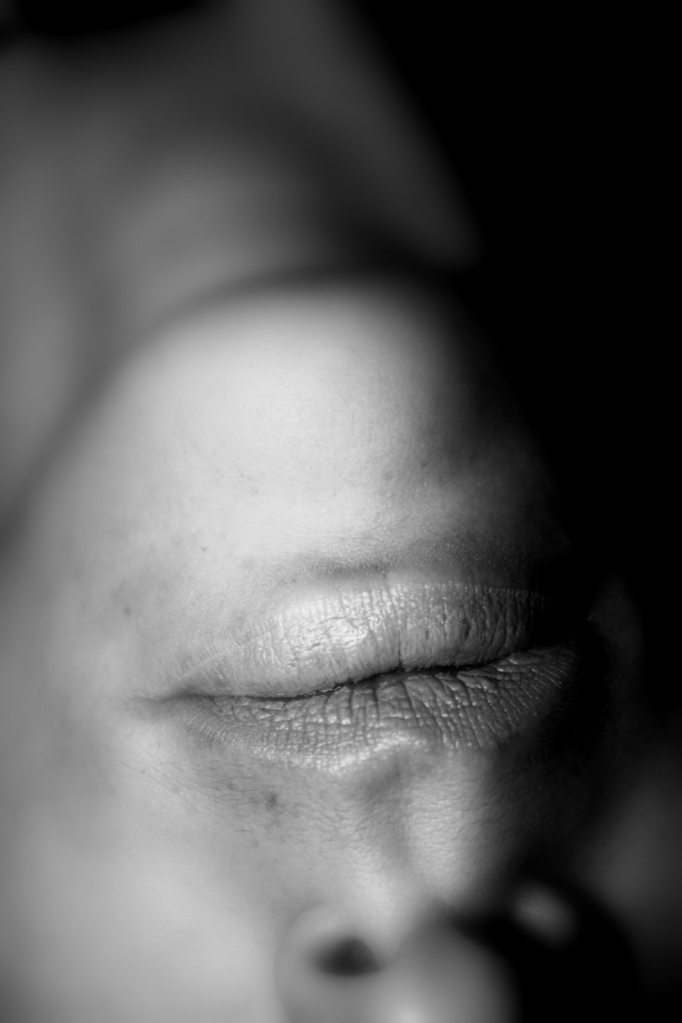 lips close up person