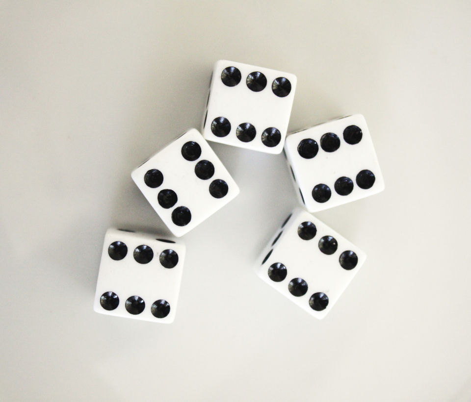 lucky dice number