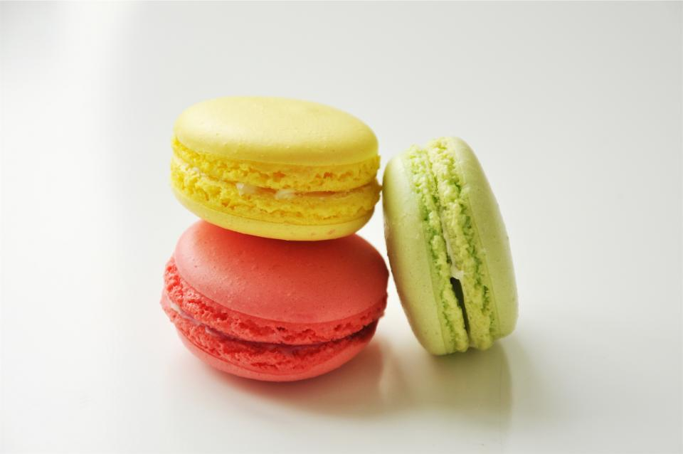 Free stock photo of macaroons dessert