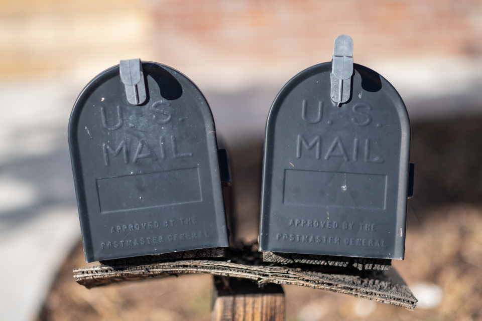 mail boxes mailbox