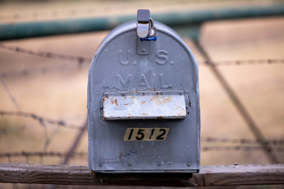 Free stock photo of mail boxes