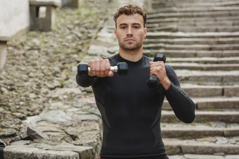 Free stock photo of male fitness
