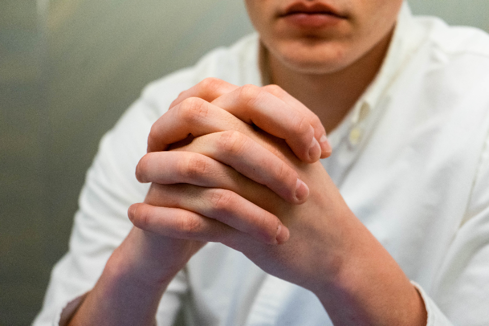 Free stock photo of male hands