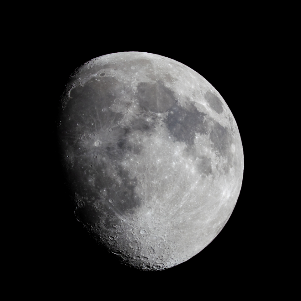 Free stock photo of moon surface