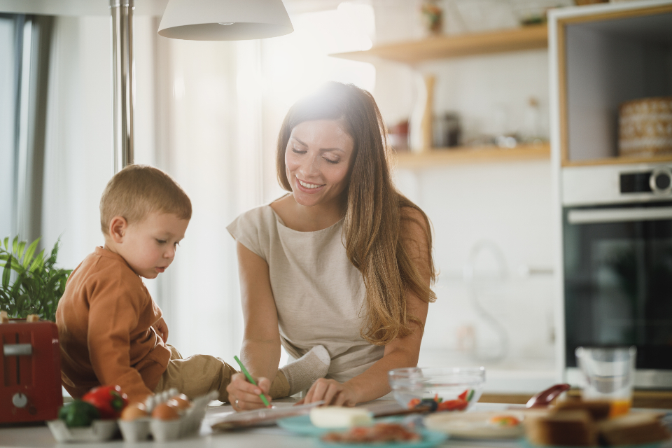 Free stock photo of mother child