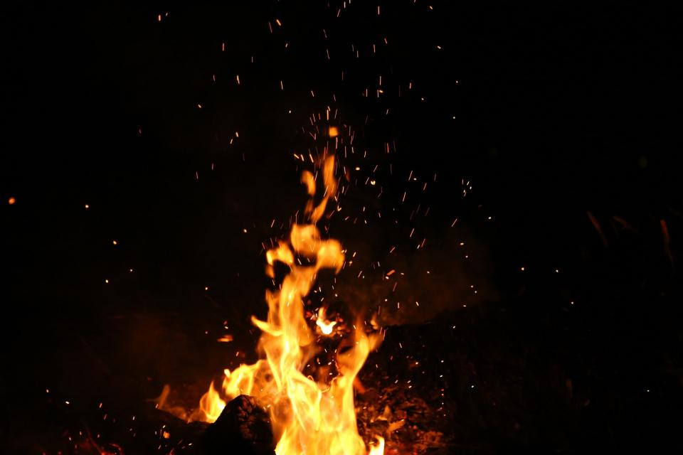 nature fire flames