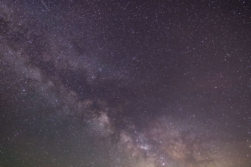 Free stock photo of night starry