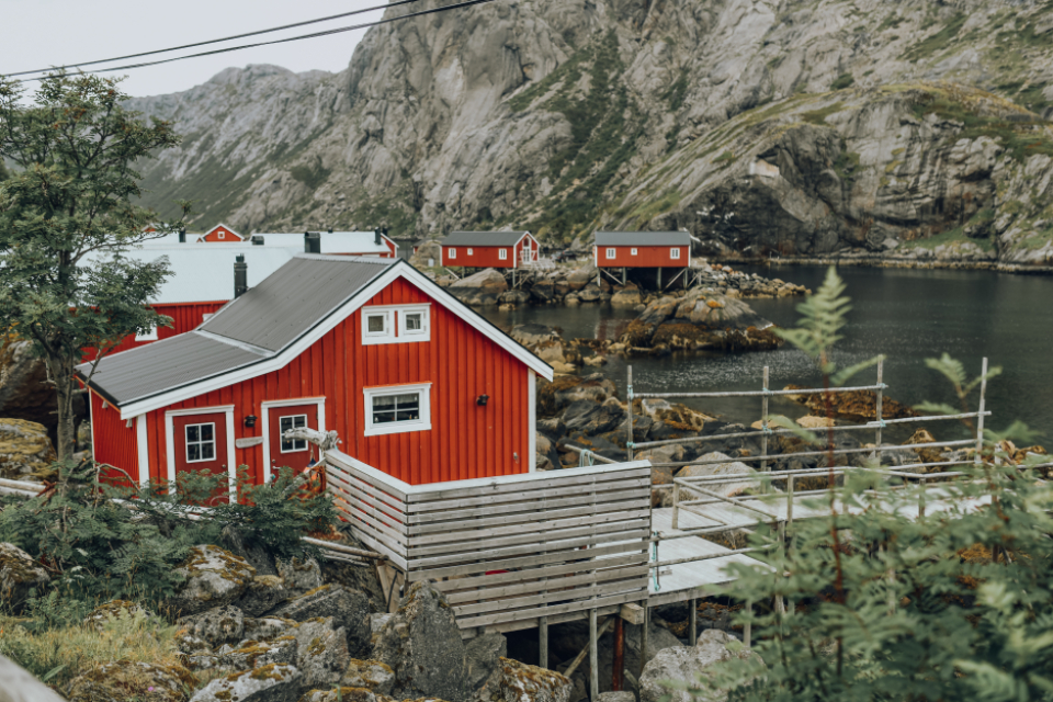 norway lofoten village