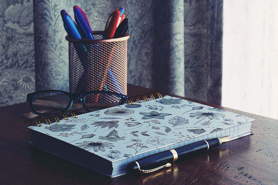 notebook books writing