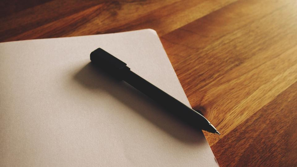 Free stock photo of notepad paper