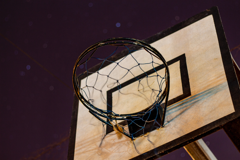 Free stock photo of old basketball