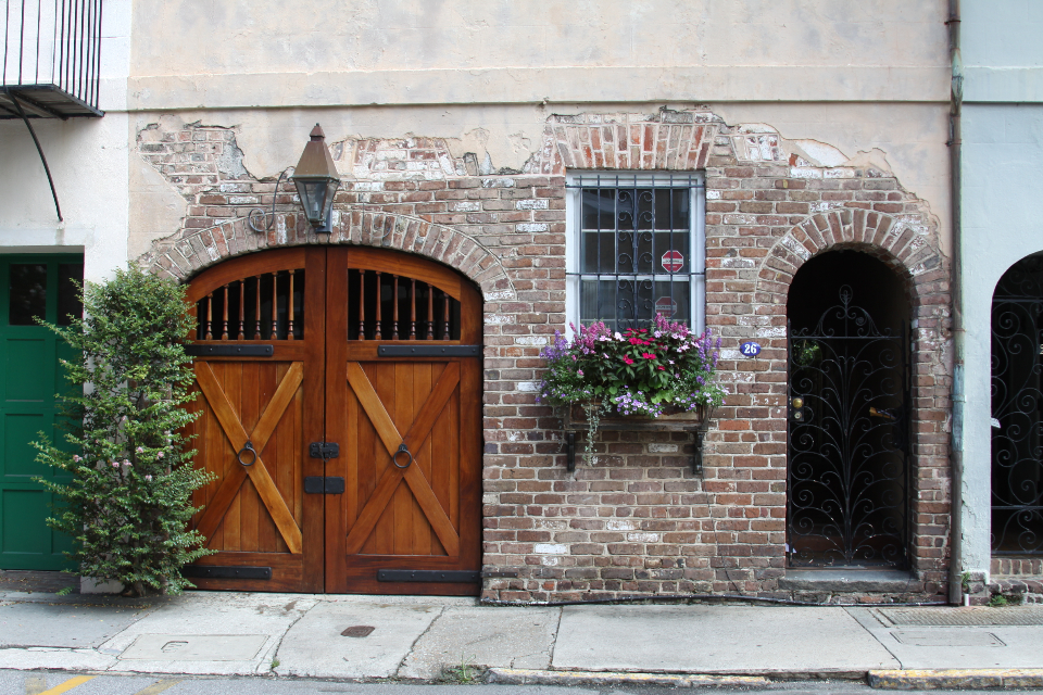 old door building