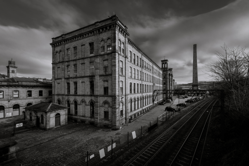 old factory building