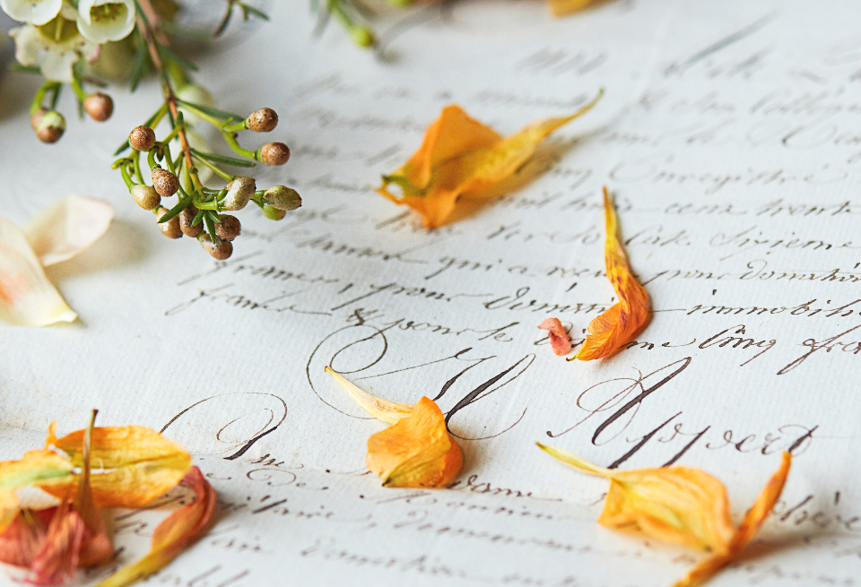 Free stock photo of old letter