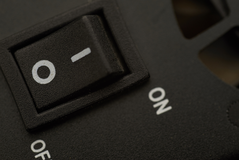 Free stock photo of on button
