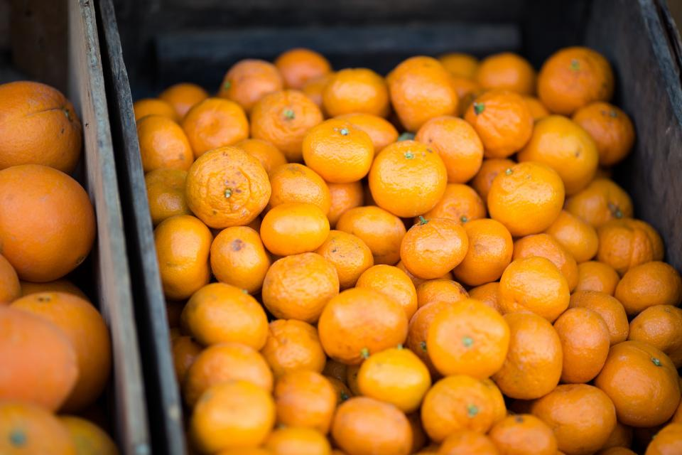 oranges clementines fruits