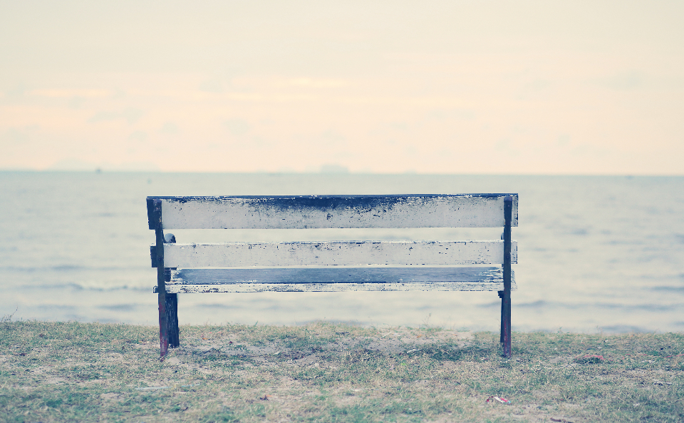 Free stock photo of park bench