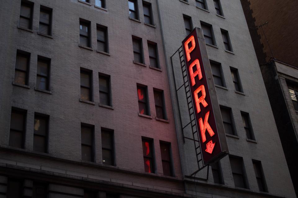 Free stock photo of park sign