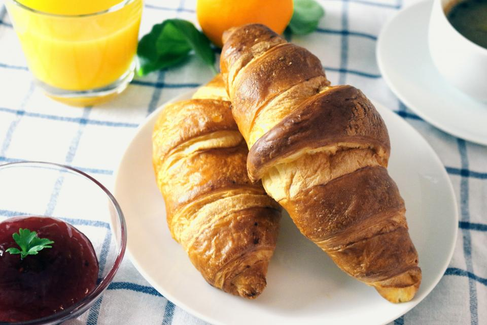 Free stock photo of pastries breakfast
