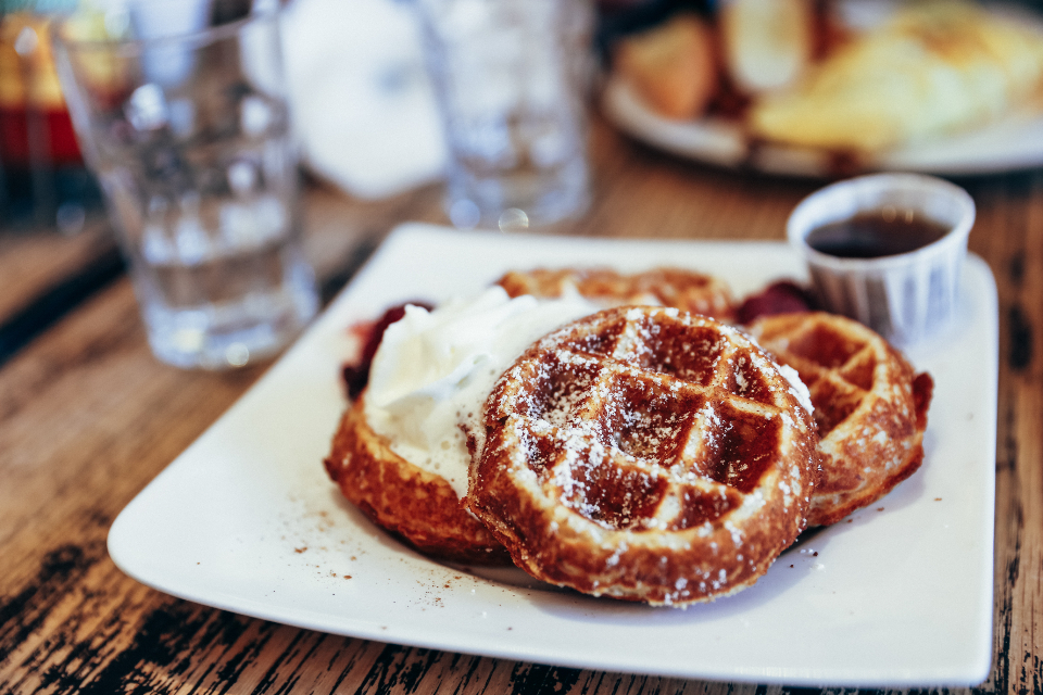 pastry waffles pancakes