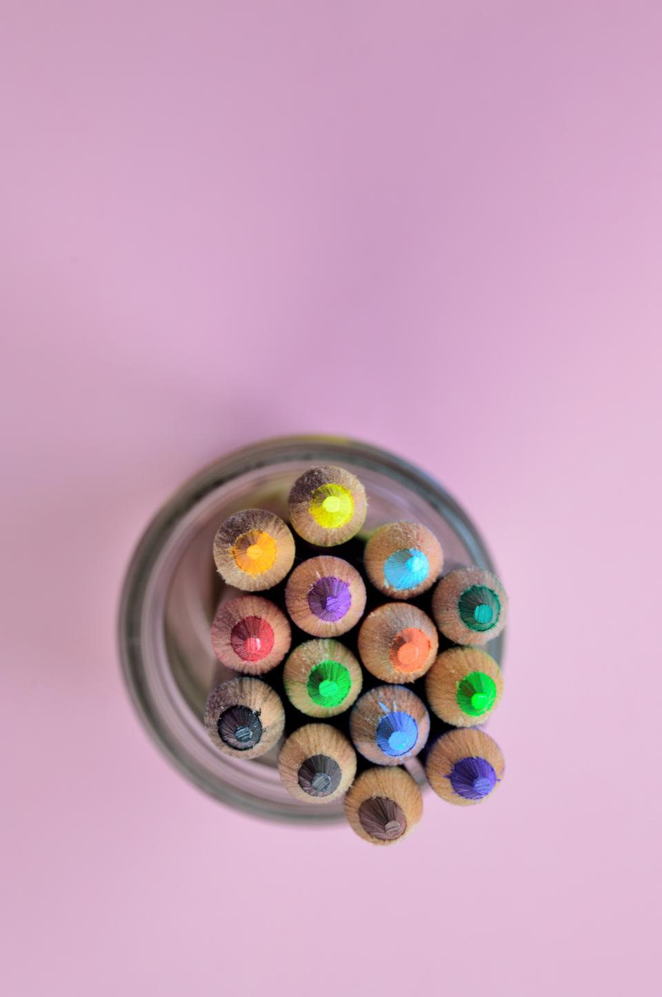Free stock photo of pencil color