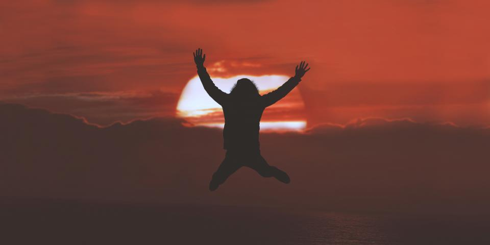Free stock photo of people jump