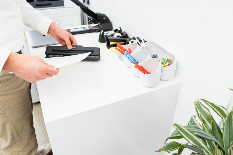 person office supplies