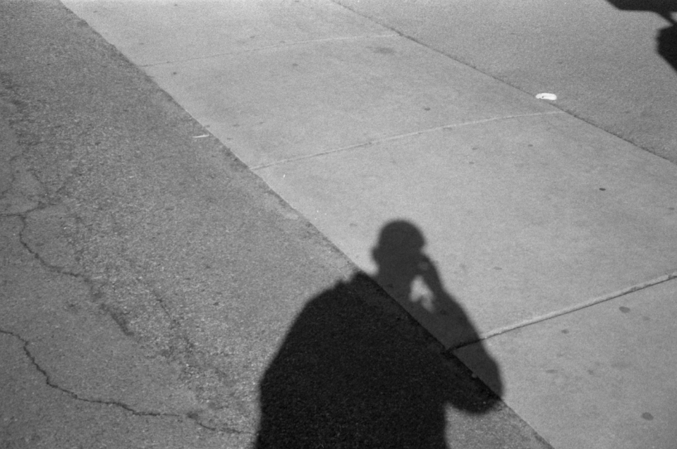 Free stock photo of person shadow