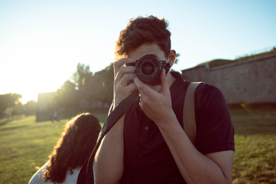 Free stock photo of photographer picture