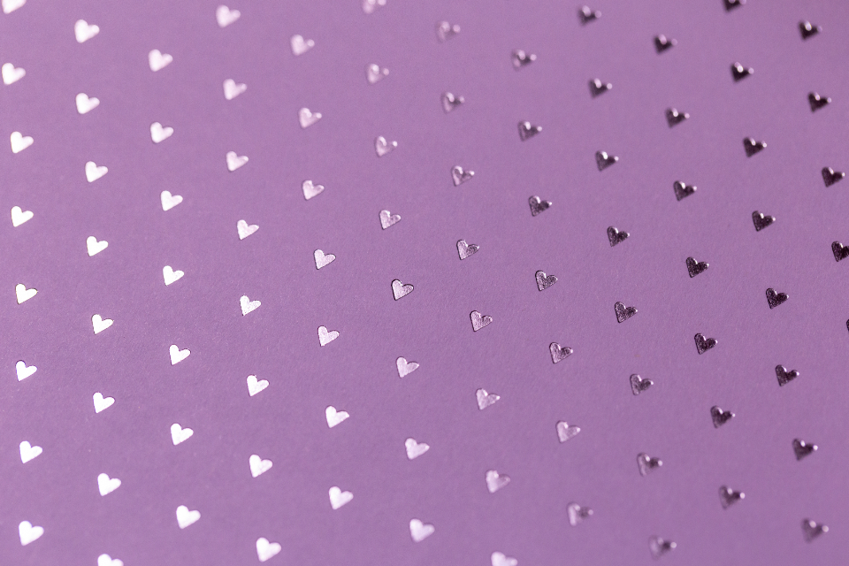 pink hearts texture