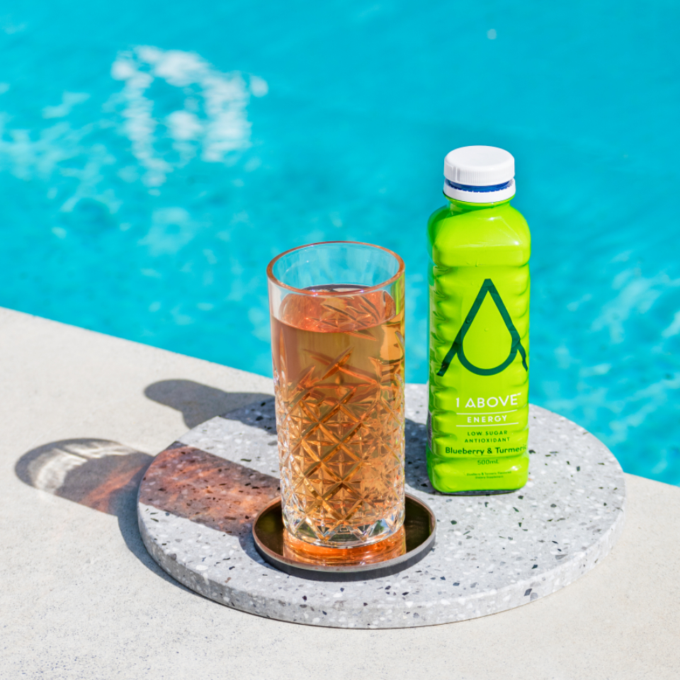 poolside summer drink