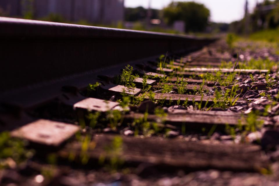 railroad railway train tracks