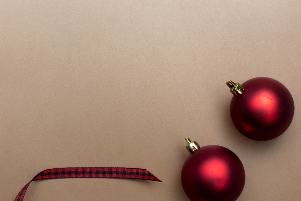 Free stock photo of red christmas