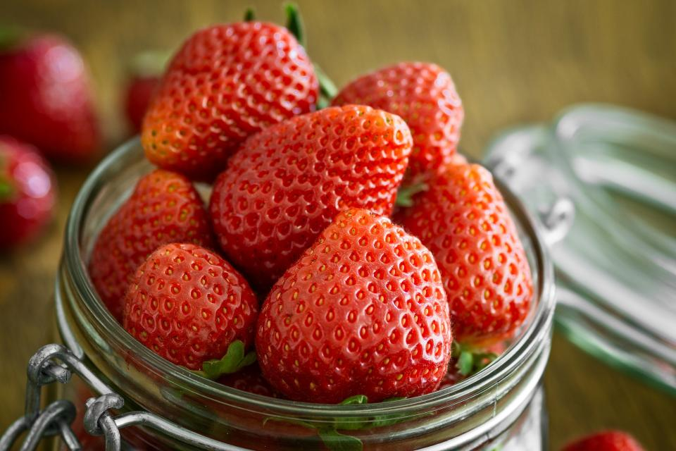 red fruit strawberry