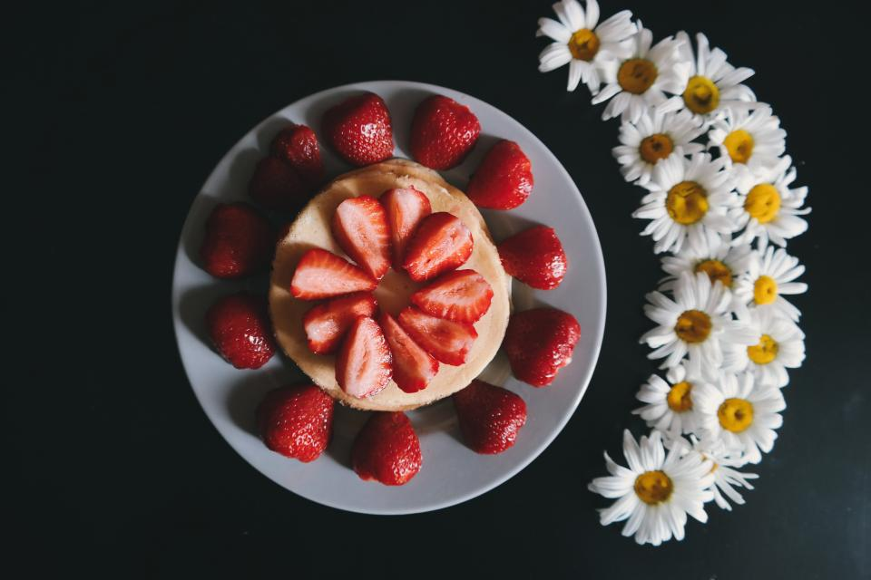 Free stock photo of red strawberry