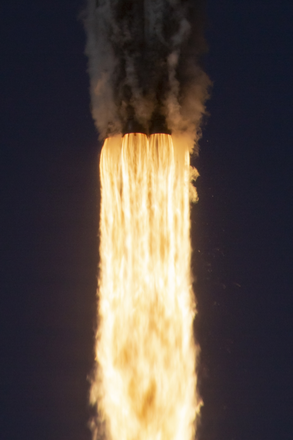 rocket liftoff fire