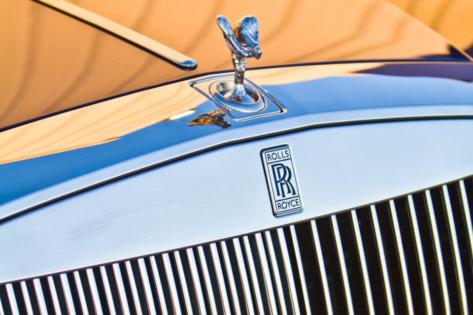 rolls royce car badge