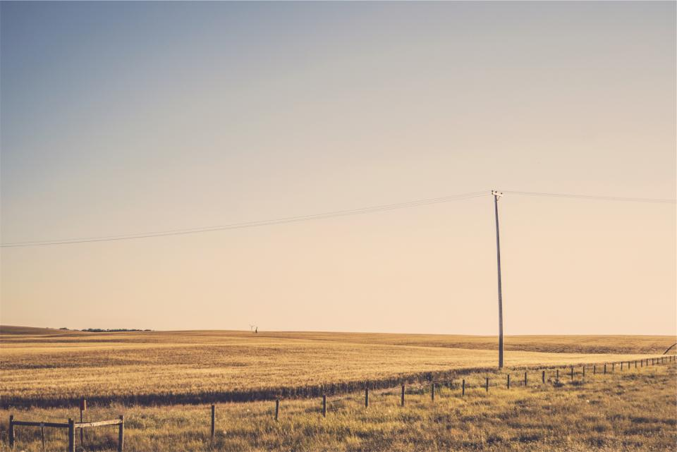 Free stock photo of rural fields