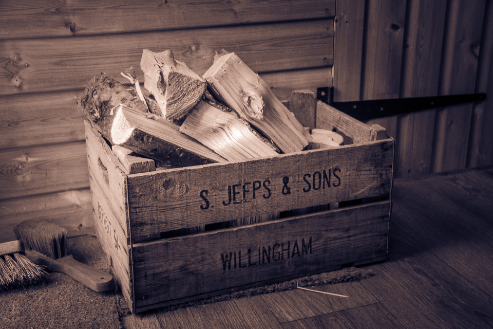 rustic crate wood