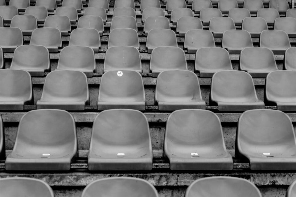 seats chairs stadium