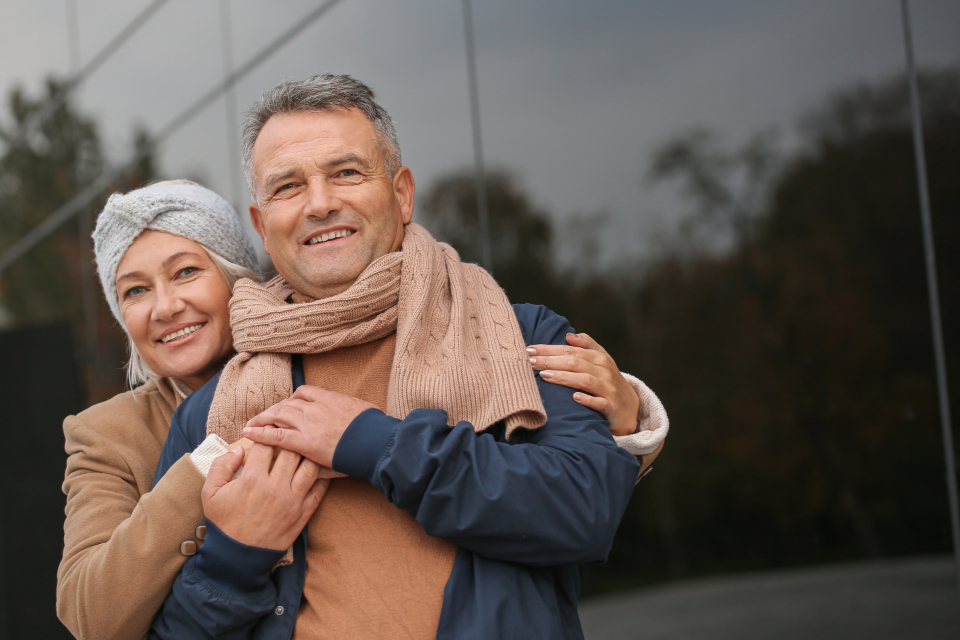 Free stock photo of senior couple