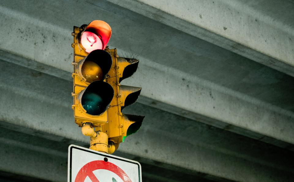 Free stock photo of sign stoplight