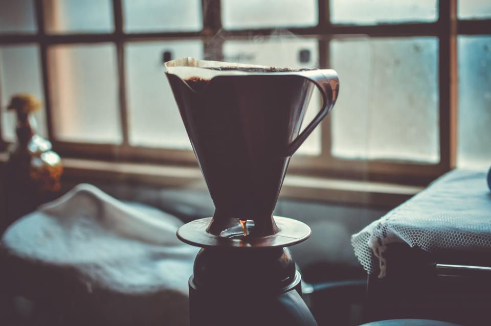 Free stock photo of silhouette coffee