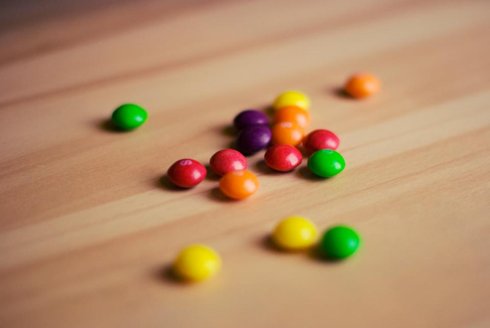 skittles candy food