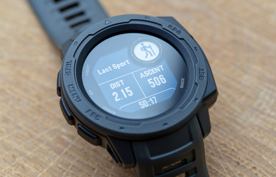 smartwatch gps hiking