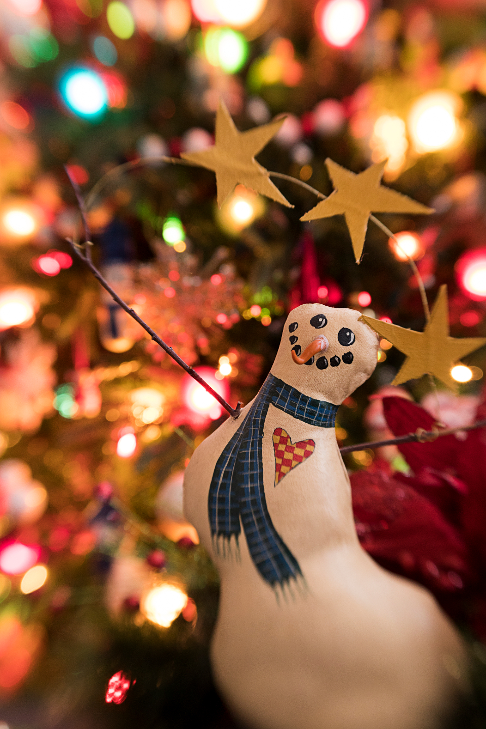 Free stock photo of snowman holiday