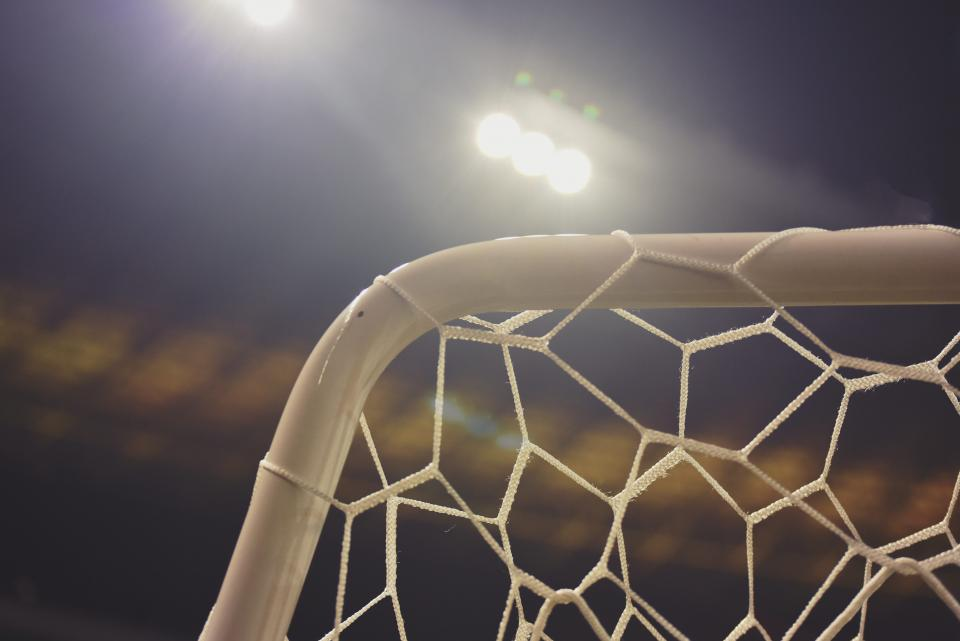 Free stock photo of soccer net