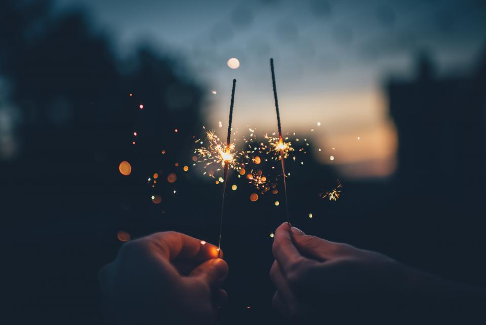Free stock photo of sparks lights