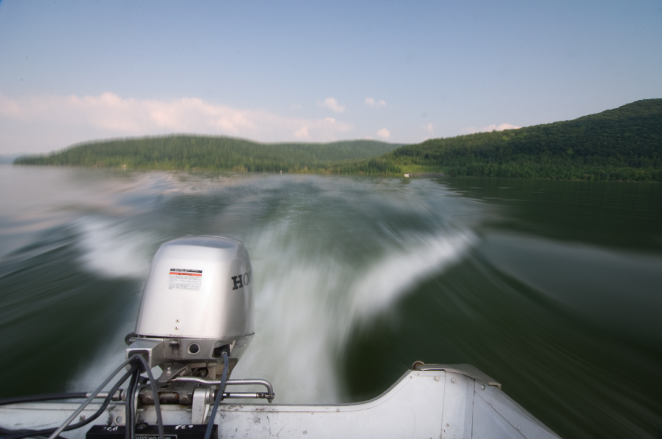 Free stock photo of speed motorboat